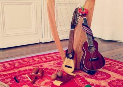 eveil musical instruments