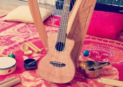 mamatoto harpe ukulele