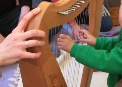 bebe harpe eveil